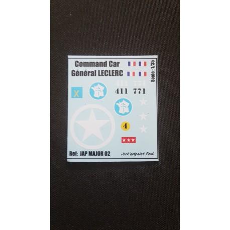 COMMAND CAR - GEN LECLERC