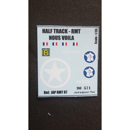 HALF TRACK - NOUS VOILA