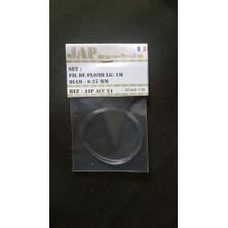 Accessoire - JapModels - Fils de plombs 0,25mm