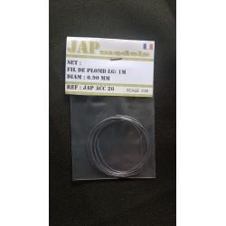 Accessoire - JapModels - Fils de plomb 0.90mm