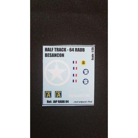 HALF TRACK - BESANCON