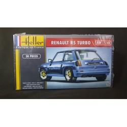 Maquette - HELLER - RENAULT 5 TURBO - Echelle 1/43