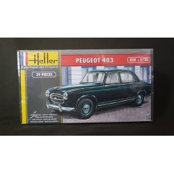 HELLER - 80161 - PEUGEOT 403 - Echelle 1/43