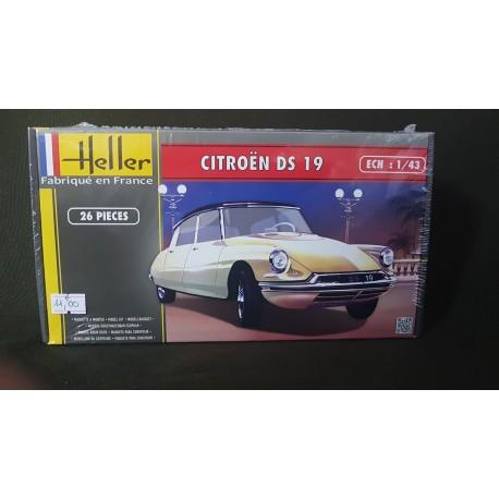 MAQUETTE HELLER - CITROEN DS - ECH 1/43 - DIORAMA