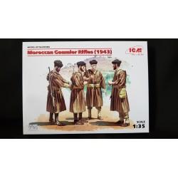 Figurine - ICM - MOROCCAN GOUMIER RIFLES (1943) - Echelle 1/35
