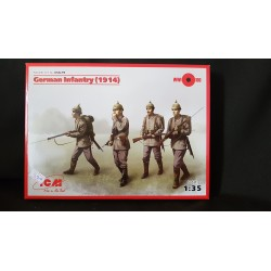 Figurine - ICM - GERMAN INFANTRY (1914) - Echelle 1/35