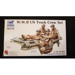 Figurine - BRONCO - US TRUCK CREW SET - Echelle 1/35