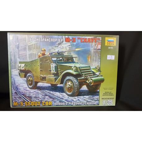 MAQUETTE ZVEZDA - SCOUTCAR M3 - REF 3519 - ECH 1/35