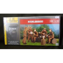 Figurine - HELLER - HIGHLANDERS - Echelle 1/35