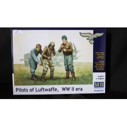 Figurine - MB - PILOTS OF LUFTWAFFE - Echelle 1/35