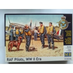 Figurine - MB - RAF PILOTS - Echelle 1/35