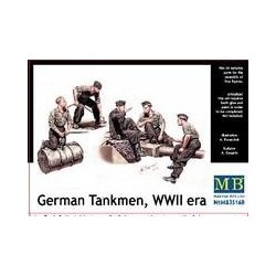 Figurine - MB - GERMAN TANKMEN - Echelle 1/35