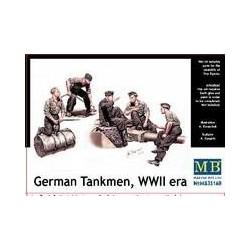 Figurine - MB - GERMAN TANKMEN - Echelle 1/35