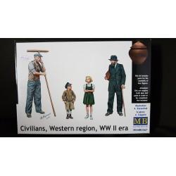 Figurine - MB - CIVILIAN, WESTERN REGION - Echelle 1/35