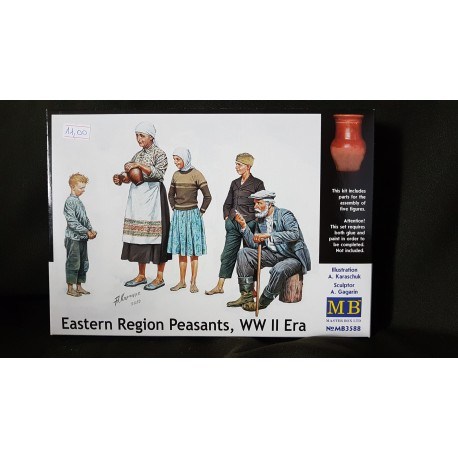 Figurine - MB - EASTERN REGION PEASANTS - Echelle 1/35