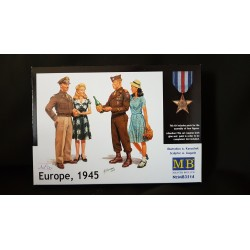 Figurine - MB - EUROPE, 1945 - Echelle 1/35