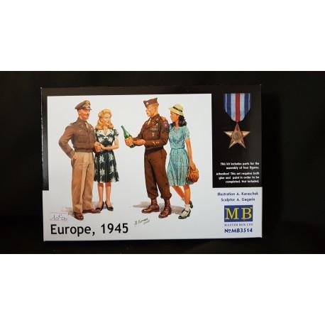 Figurine - MB - EUROPE, 1945 - Echelle 1/35