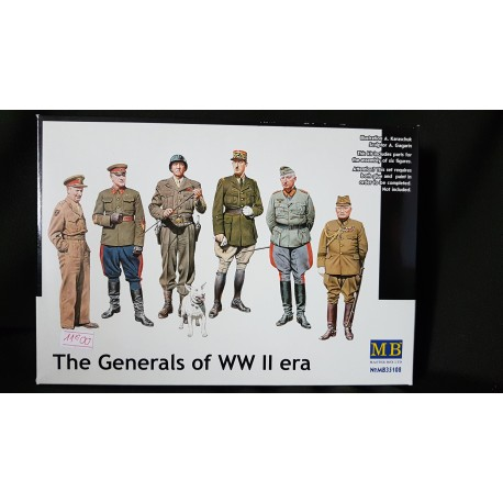 Figurine - MB - THE GENERALS OF WWII - Echelle 1/35