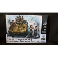 Figurine - MB - THE 101ST LIGHT COMPANY - Echelle 1/35