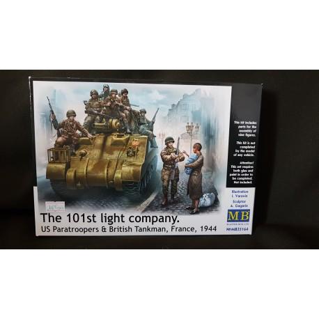 Figurine - MB - THE 101ST LIGHT COMPANY - Echelle 1/35