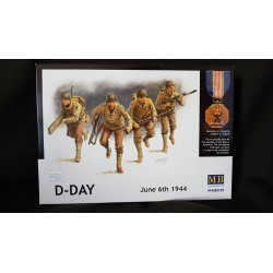 Figurine - MB - D-DAY JUNE 6TH 1944 - Echelle 1/35