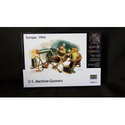 Figurine - MB - US MACHINE-GUNNERS EUROPE 1944