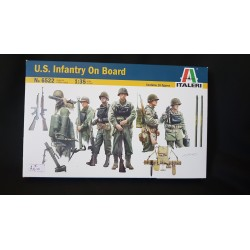 Figurine - ITALERI - US INFANTRY ON BOARD - Echelle 1/35