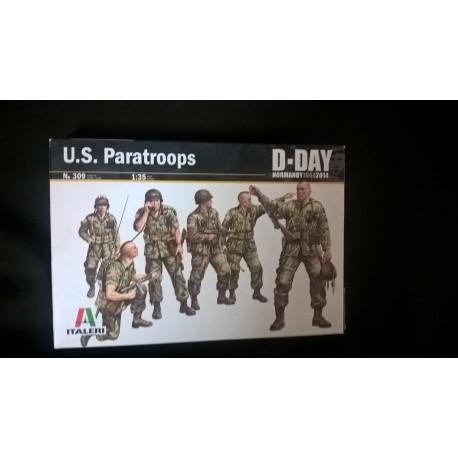 Figurine - ITALERI - US PARATROOPS - Echelle 1/35