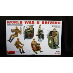 Figurine - MINIART - WORLD WAR II DRIVERS - Echelle 1/35