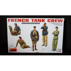 Figurine - MINI ART - FRENCH TANK CREW - Echelle 1/35