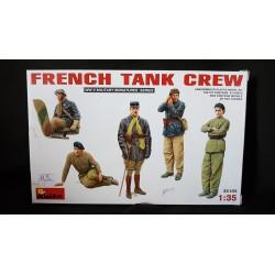 Figurine - MINI ART - FRENCH TANK CREW - Echelle 1/35
