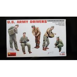 Figurine - MINI ART - US ARMY DRIVER - Echelle 1/35