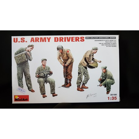Figurine - MINI ART - US ARMY DRIVER - Echelle 1/35