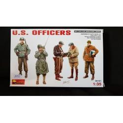 Figurine - MINI ART - US OFFICERS - Echelle 1/35