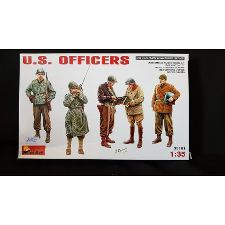 Figurine - MINI ART - US OFFICERS - Echelle 1/35