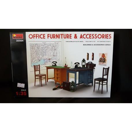Figurine - MINI ART - OFFICE FURNITURE AND ACCESSORIES - Echelle 1/35