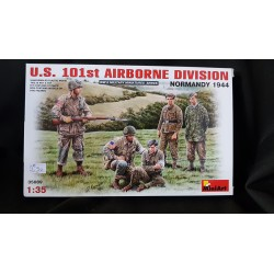 Figurine - MINI ART - US 101ST AIRBORNE DIVISION (NORMANDY 1944) - Echelle 1/35