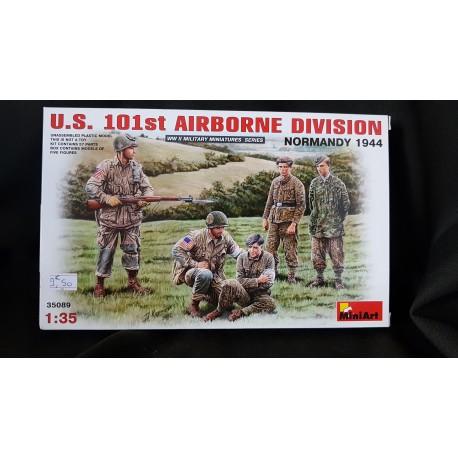 Figurine - MINI ART - US 101ST AIRBORNE DIVISION (NORMANDY 1944) - Echelle 1/35