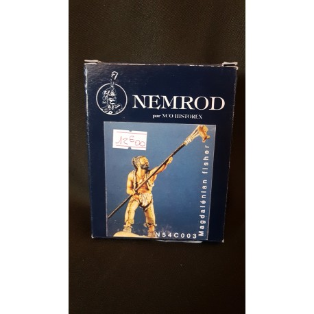 Figurine - NEMROD - MAGDALENIAN FISHER - 54mm