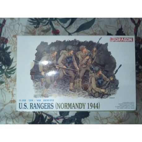 Figurine - DRAGON - US ARMY RANGERS (NORMANDY 1944) - Echelle 1/35