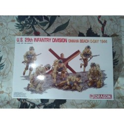 Figurine - DRAGON - US 29TH INFANTRY DIVISION (OMAHA BEACH D-DAY 1944) - Echelle 1/35