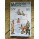 Figurine - TAMIYA -US TANK CREW SET (EUROPEAN THEATER) - Echelle 1/35