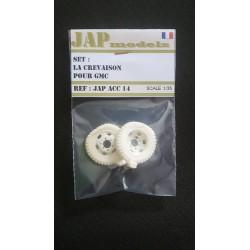Accessoire - JapModels - Set la crevaison pour GMC 1/35