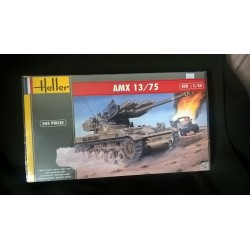 MAQUETTE HELLER CHAR AMX 13/75 - ECH 1/35
