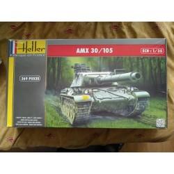 MAQUETTE HELLER CHAR AMX 30 - 1/35