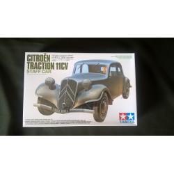 MAQUETTE TAMIYA - CITROEN TRACTION 11CV - ECH 1/35 - WWII- TAM 35301