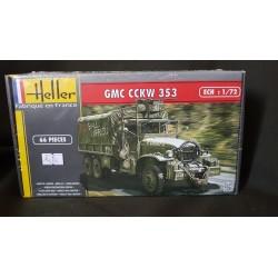 Maquette - HELLER - GMC CCKW 353 - Echelle 1/72