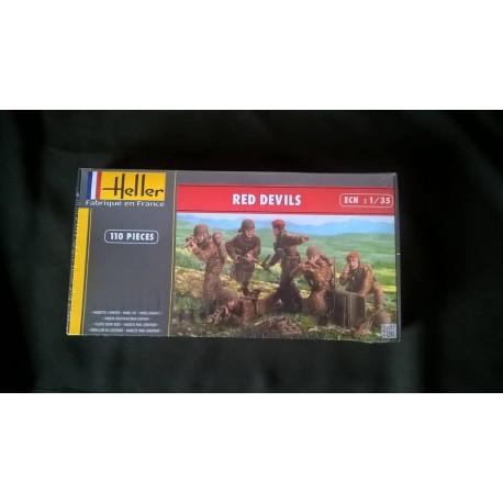 Figurine - HELLER - RED DEVILS - Echelle 1/35