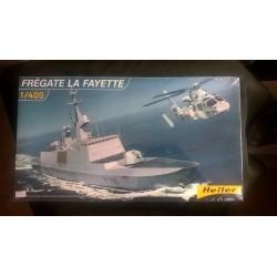 Maquette - HELLER - FREGATE LAFAYETTE - Echelle 1/400