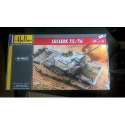 Maquette - HELLER - CHAR LECLERC T5 / T6 - Echelle 1/35